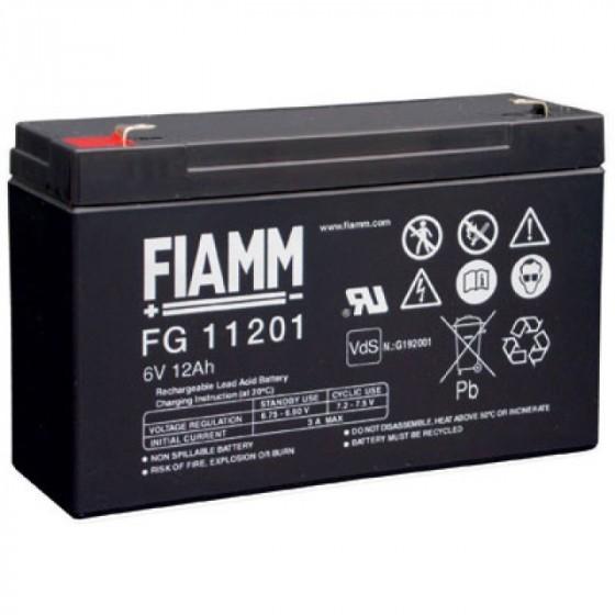 Fiamm FG11201 Blei-Akku 6 Volt