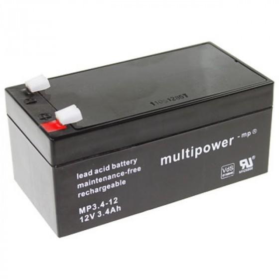 Multipower MP3.4-12 Bleiakku