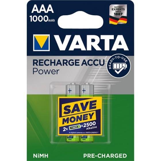 Varta 5703 Professional AAA/Micro Akku 2-Pack