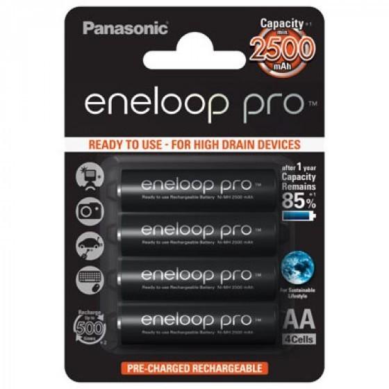 Panasonic Eneloop PRO BK-3HCCE/4BE AA/Mignon/LR6 4-Blister