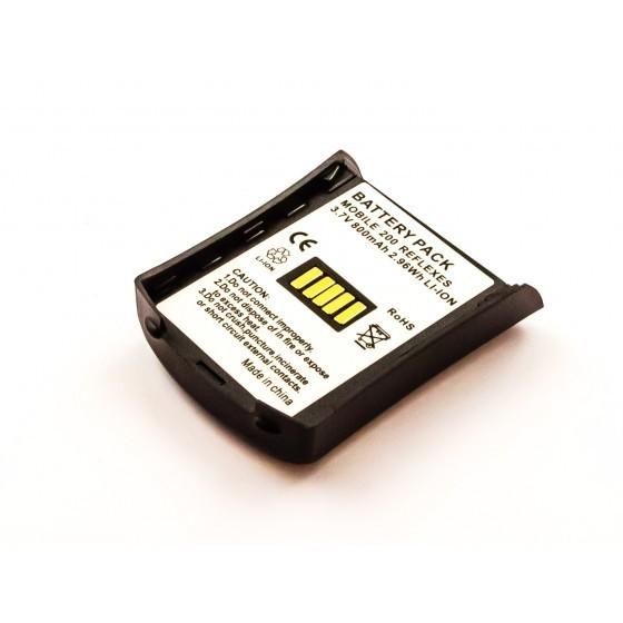 Akku passend für Alcatel Mobile 200 Reflexes