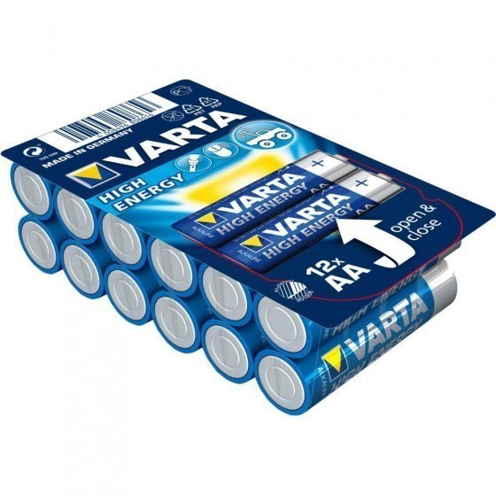 Varta 4906 High Energy AA/Mignon/LR6 Batterien 12-Pack