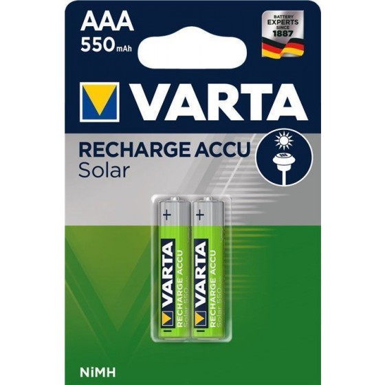 Varta Solar Accu AAA/Micro Ready2Use 550mAh 2-Pack
