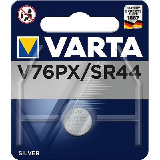 Varta V76PX Alkaline Batterie, 10L14, 357, SR44, GS13