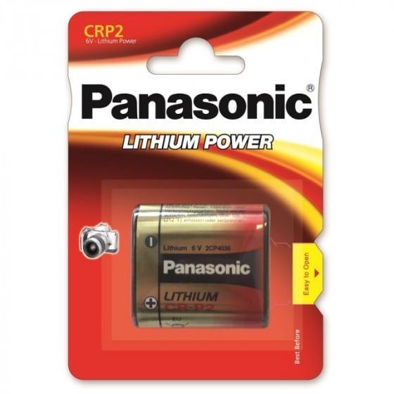 Panasonic CR-P2 6204 6 Volt Lithium Batterie