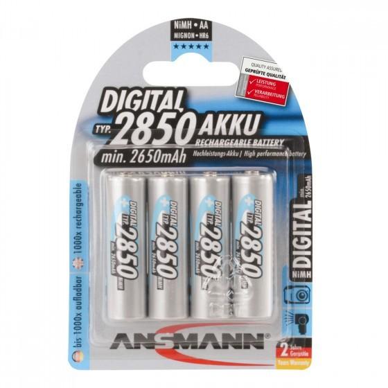 Ansmann Digital NiMH AA/Mignon Akku 4-Pack