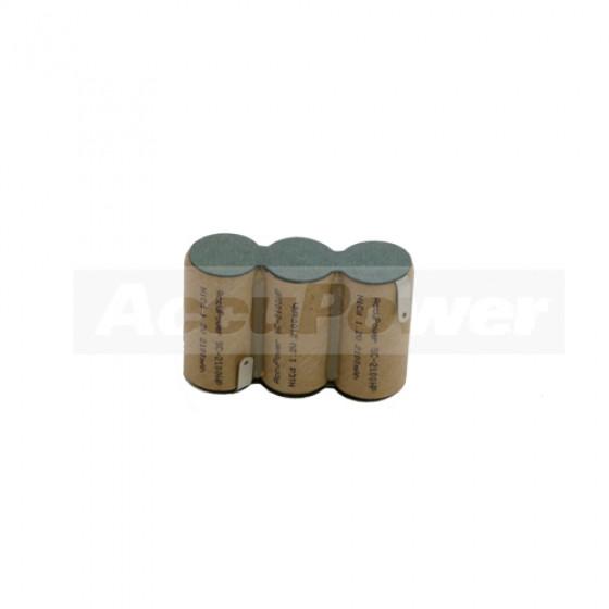 AccuPower Akku passend für Gardena ACCU60 mit Lötfahnen