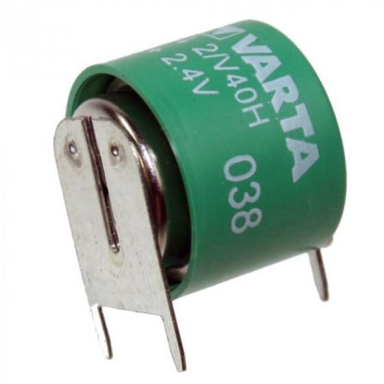 Varta 2/V40H NiMH Akku aufladbare Knopfzelle