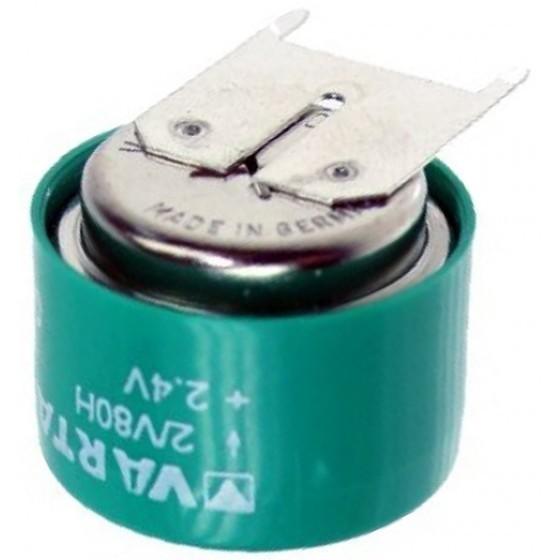 Varta 2/V80H NiMH Akku aufladbare Knopfzelle