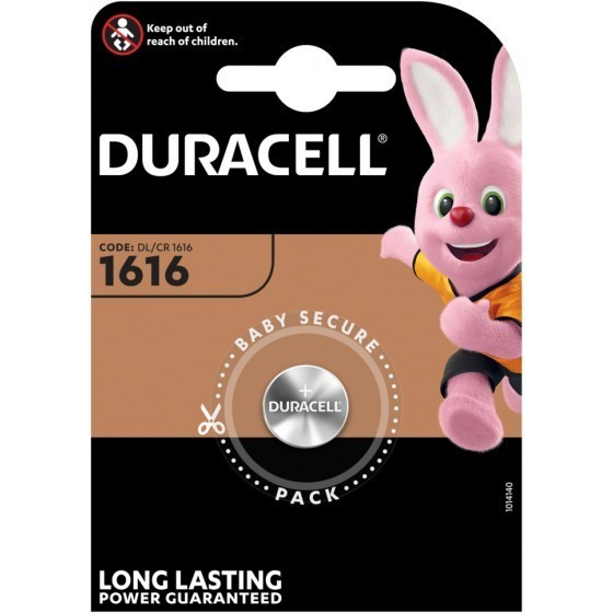 Duracell CR1616 Lithium Knopfbatterie