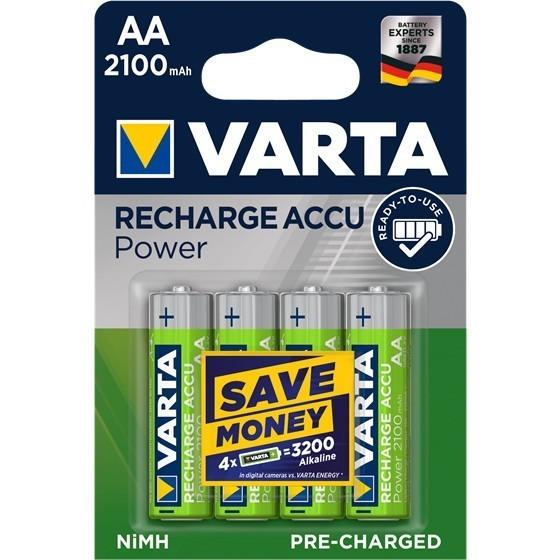 Varta 56706 Longlife AA/Mignon Ready2Use Akku 4-Pack