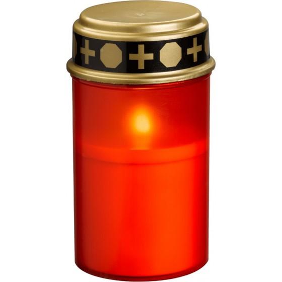 Grablicht LED inkl. 2x AA Batterien, rot