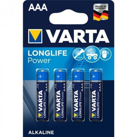 Varta 4903 High Energy AAA/Micro Batterie 4-Pack
