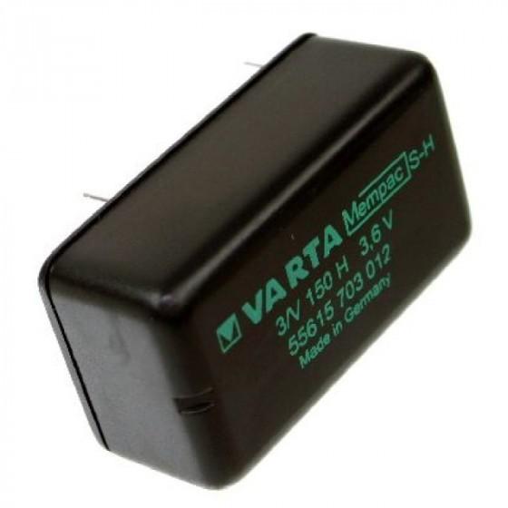 Varta Backup Akku MEMPAC S-H, 3N150H, 55615-703-012