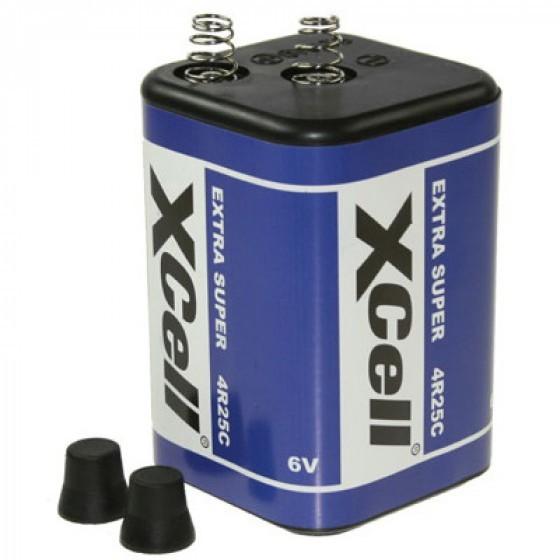 4R25, 430 Blockbatterie, Typ 4R25C Batterie, Lampenbatterie