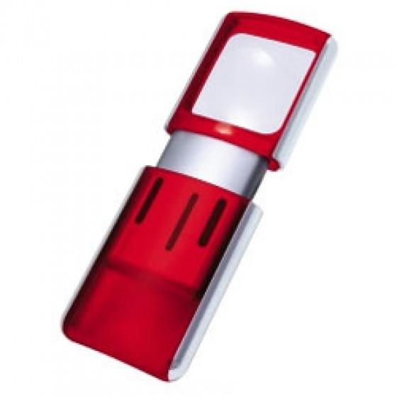 Lupe mit LED Hintergrund Beleuchtung und 3fach Vergrößerung