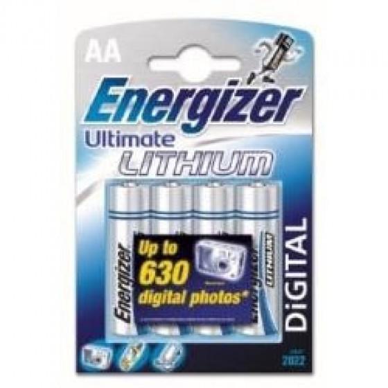 Energizer L91 AA/Mignon Lithium Batterie 4-Pack
