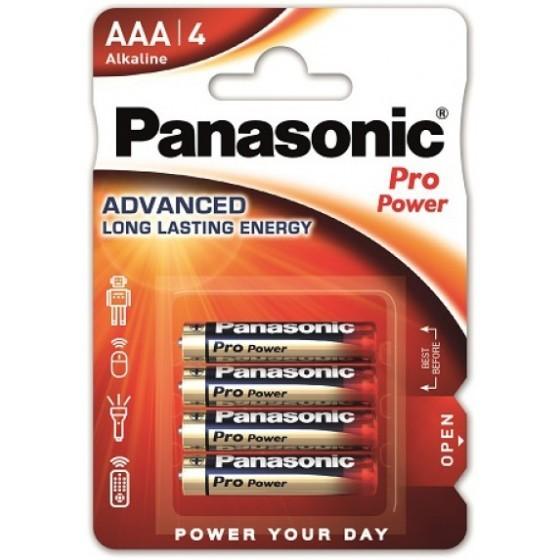 Panasonic Pro Power AAA/Micro/LR03 Batterie 4-Pack