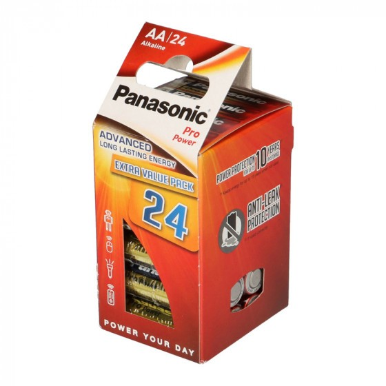 Panasonic Pro Power AA/Mignon/LR6 Batterie 24-Pack