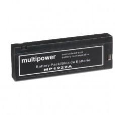AccuPower Akku passend für Panasonic VW-VB30, -VB31, VW-VBF10E