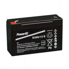 Exide Powerfit S306/12S Bleiakku