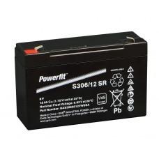 Exide Powerfit S306/12SR Bleiakku