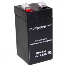 Multipower MP4.5-4 Bleiakku