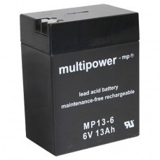 Multipower MP13-6 Bleiakku