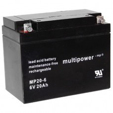 Multipower MP20-6 Bleiakku