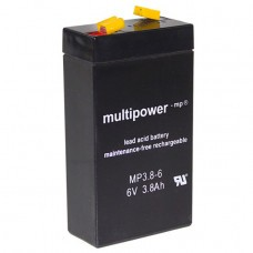 Multipower MP3.8-6 Bleiakku