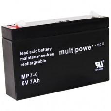 Multipower MP7-6 Bleiakku