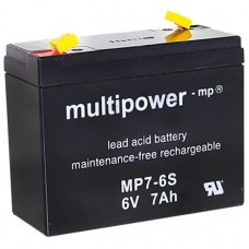 Multipower MP7-6S Bleiakku