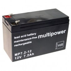 Multipower MP7.2-12 Bleiakku 12 Volt
