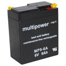 Multipower MP9-6A Bleiakku