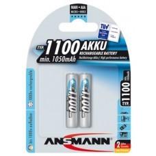 Ansmann Professional AAA/Micro Akku 2-Pack