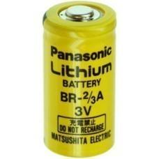 BR-2/3 A Panasonic Lithium Batterie, 3Volt