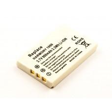 Akku passend für Logitech Harmony 1000, 1100, 1100i Remote