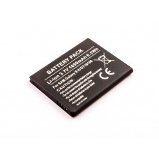 AccuPower Akku passend für Samsung Galaxy S2, I9100