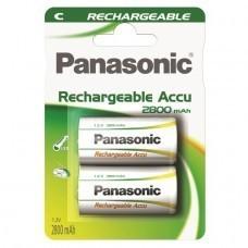 Panasonic Rechargeable C/Baby P14P Akku 2-Pack