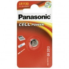 Panasonic Cell Power LR1130, AG10, CR1130 Knopfzelle 1,5V