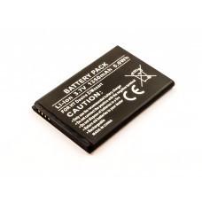 AccuPower Akku passend für HTC Desire S, Z, BA S450