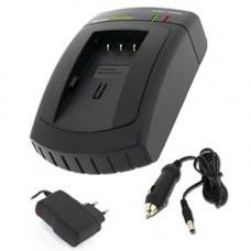 AccuPower Schnell-Ladegerät passend für Panasonic DMW-BLE9E