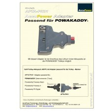AccuPower Adapter passend für Powakaddy