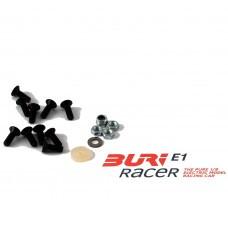 BURI Racer Set Schrauben Chassis hinten