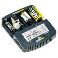 AccuPower IQ338XL Ladegerät Li-Ion/Ni-Cd/Ni-MH