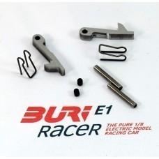 BURI Racer Set Schnellverschlüsse hinten