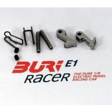 BURI Racer Set Schnellverschluß Vorderachse