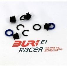 BURI Racer Set Befestigung Achsschenkel