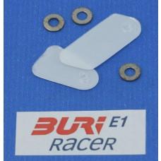 BURI Racer Set Riemenführungen