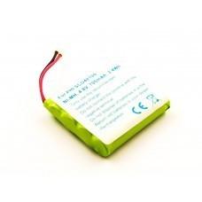Akku passend für Philips SBC-EB4870 A1507, MT700D04CX51